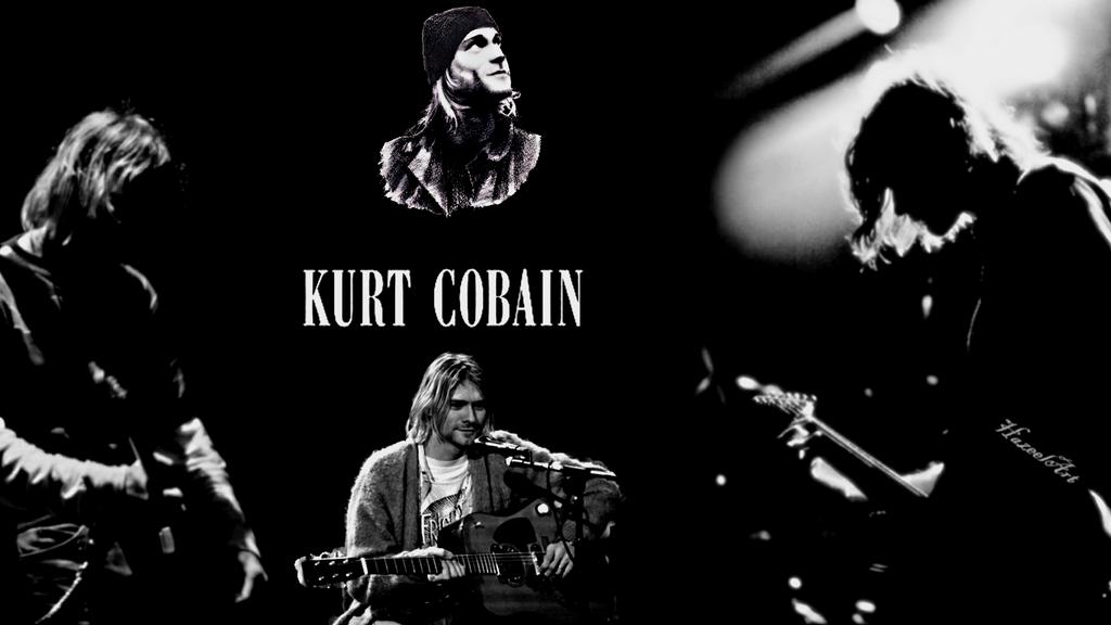 Kurt cobain wallpaper by hazeelart on deviantart - Kurt cobain nirvana wallpaper ...