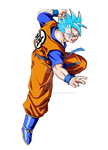 Future Gohan Super Saiyan God SSJ - (Both Arms)