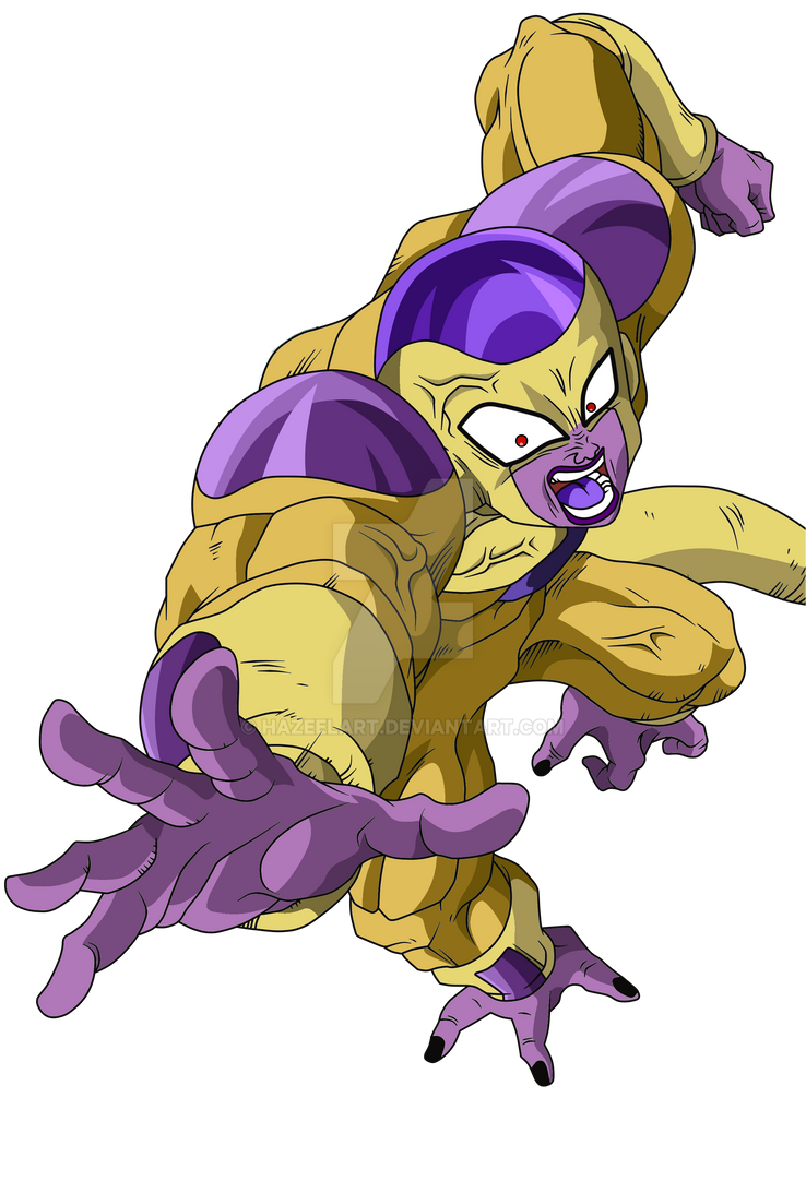 Golden Frieza 100% (Full Power) by HazeelArt on DeviantArt
