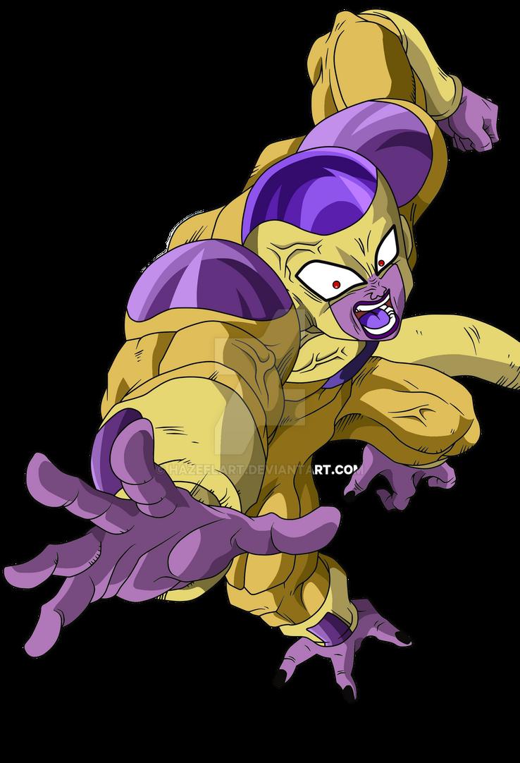 Golden Frieza 100% (Full Power) by HazeelArt on DeviantArt