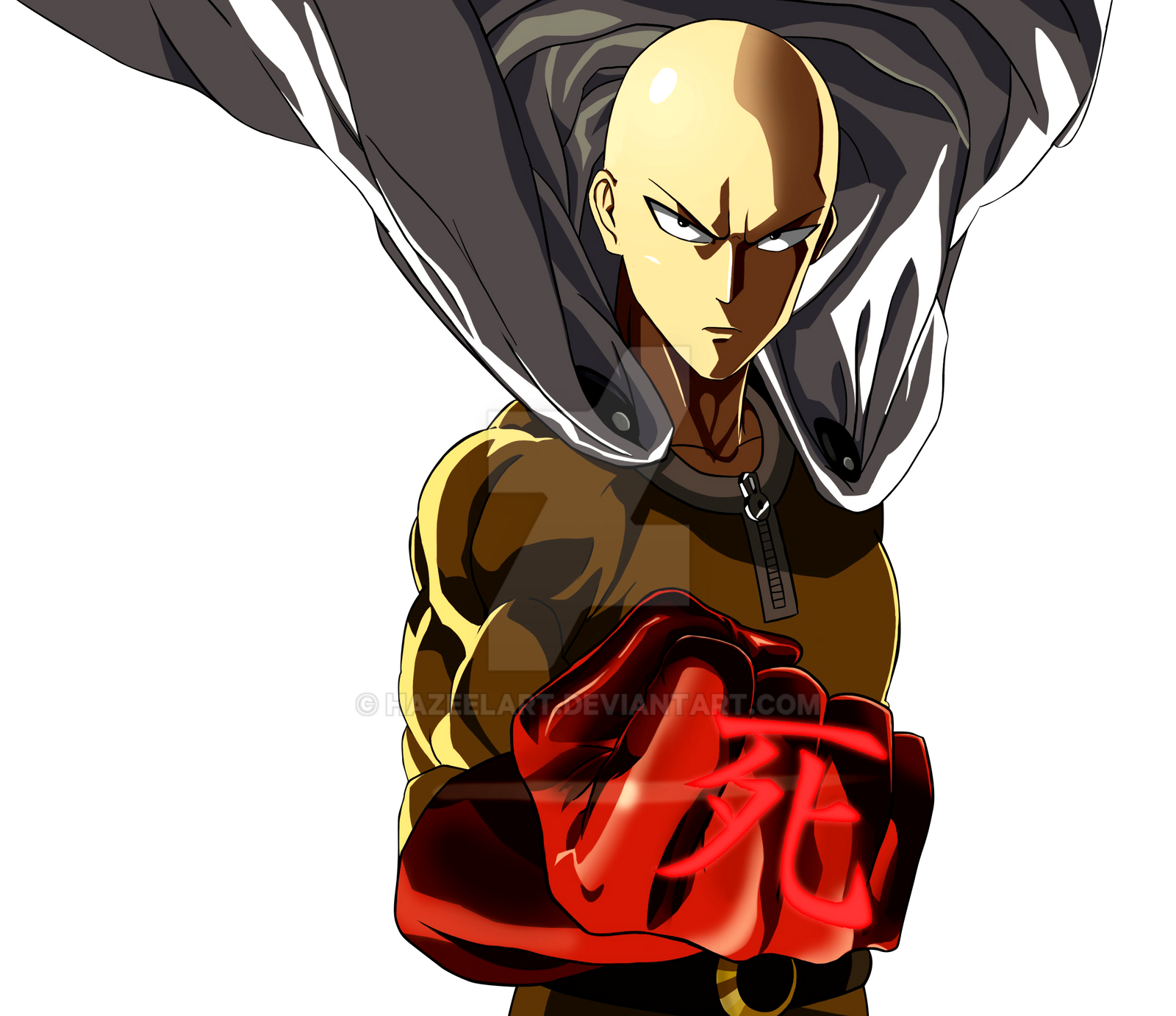 Saitama - One Punch Man by HazeelArt on DeviantArt