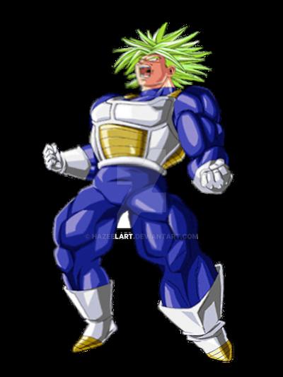 Trunks Legendary Super Saiyan by HazeelArt on DeviantArt