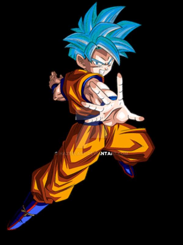 Teen Gohan Super Saiyan God Super Saiyan v2 by HazeelArt ...