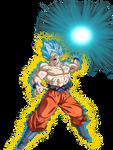 Goku Super Saiyan God Super Saiyan - Damaged
