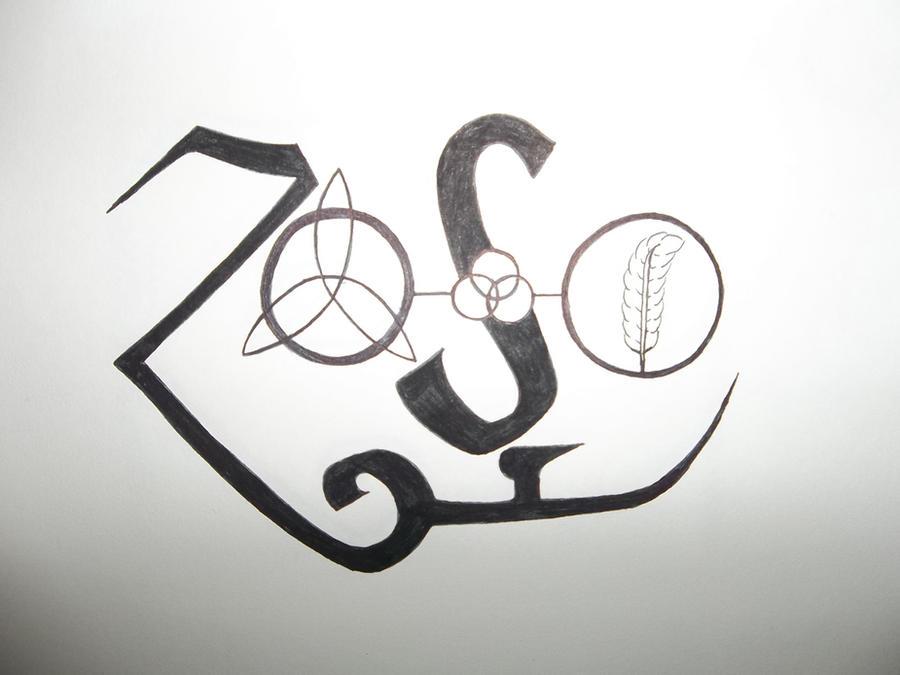 Led Zeppelin Symbols By Yessica83 On Deviantart