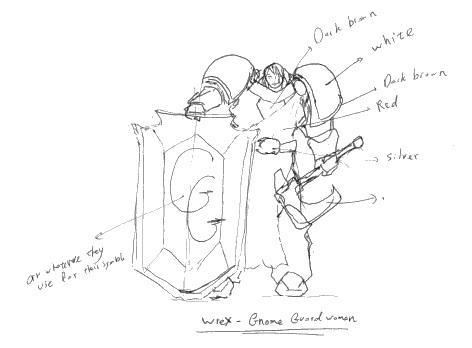 Gnome Guard doodle