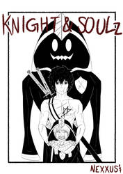 Knight and soulz . Cover page idea