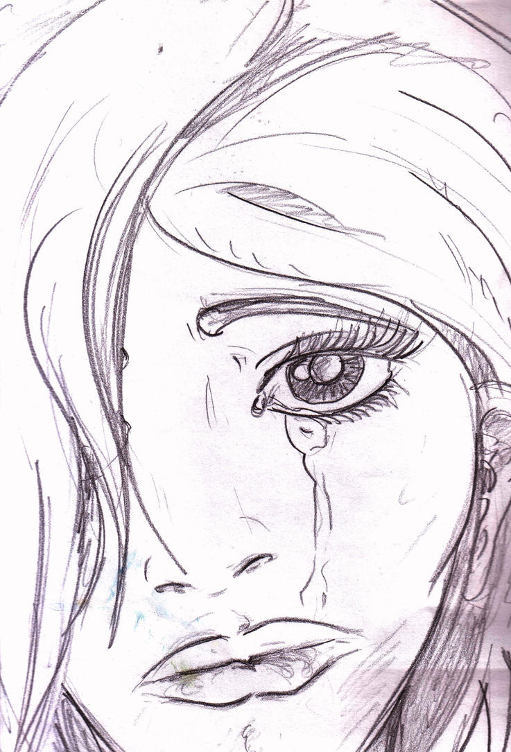 It's just a photo of Current Drawing Of Someone Crying