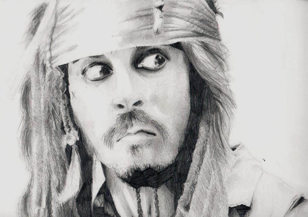 Chiaroscuro Johnny Depp by sarty96