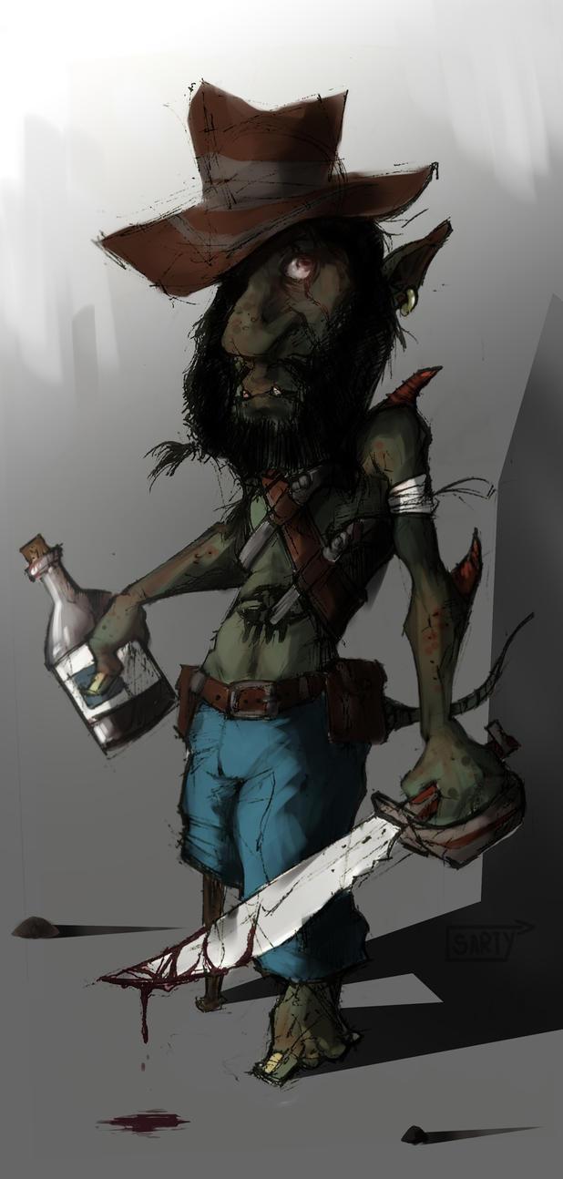 Goblin Pirata by sarty96