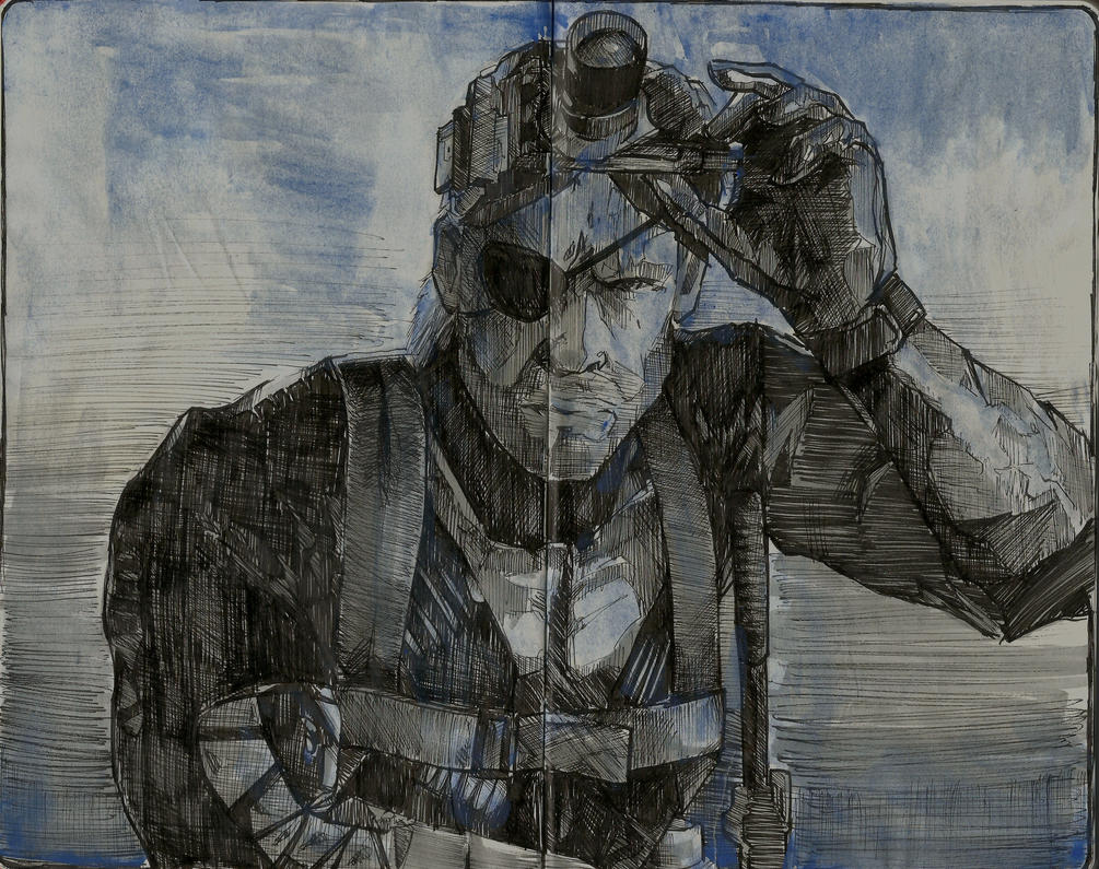 Metal Gear by sarty96