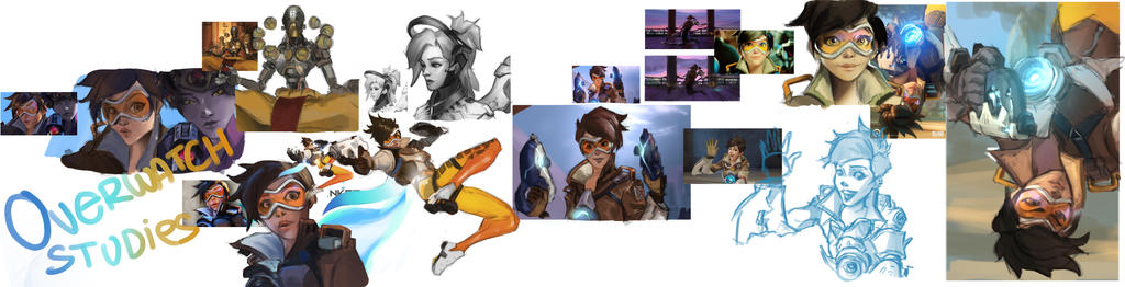 Overwatch study by sarty96
