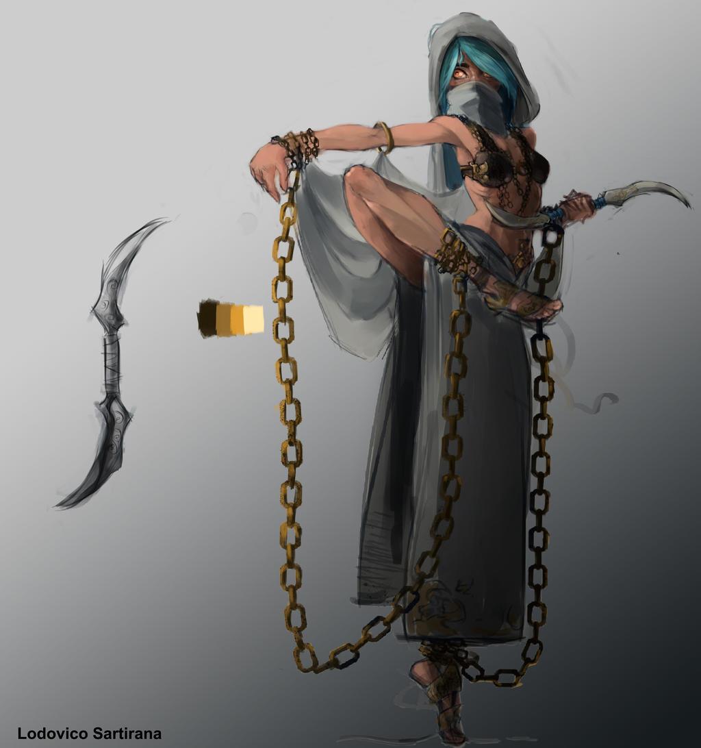 Assassin (danzatrice assassina vs2) by sarty96