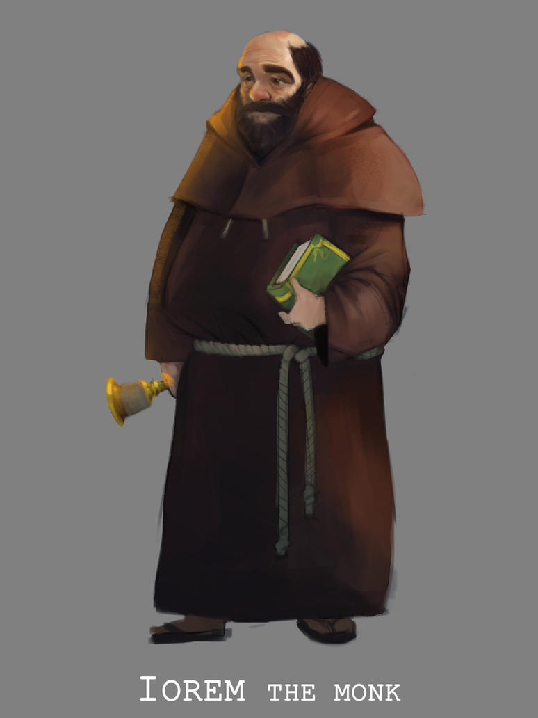 Iorem the Monk by sarty96