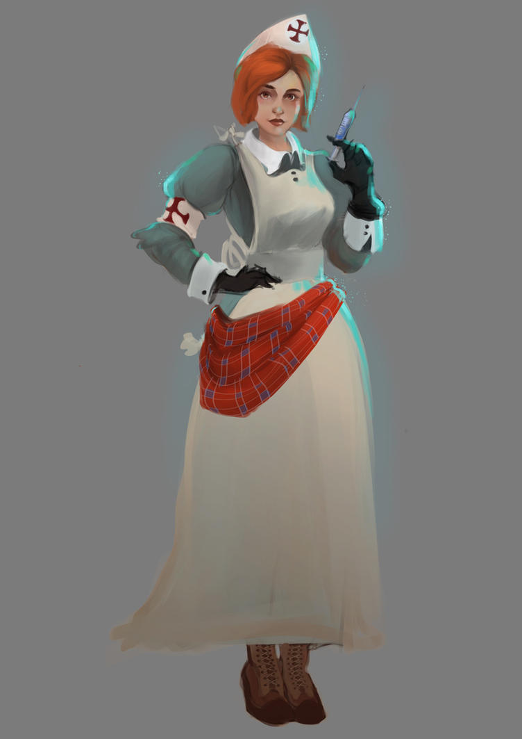 Scottish Nurse by sarty96