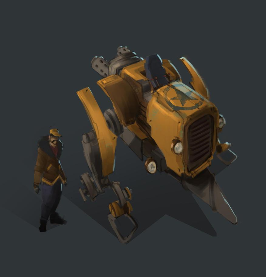MXL2Z-Farm Mech by sarty96