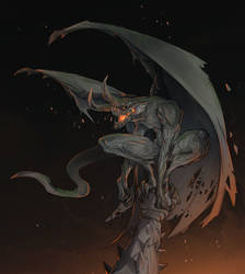 CDC October- Gargoyle
