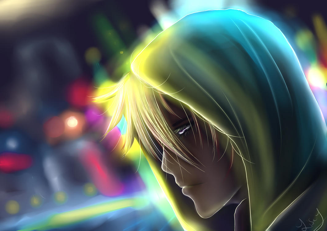 Sad Anime Boy Wallpaper By Lizysco
