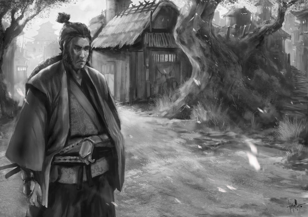 The Ronin by Ghost-Hinimoto