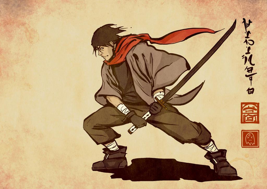 Ryuma illustration by Ghost-Hinimoto