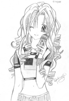 Singer by otakulu