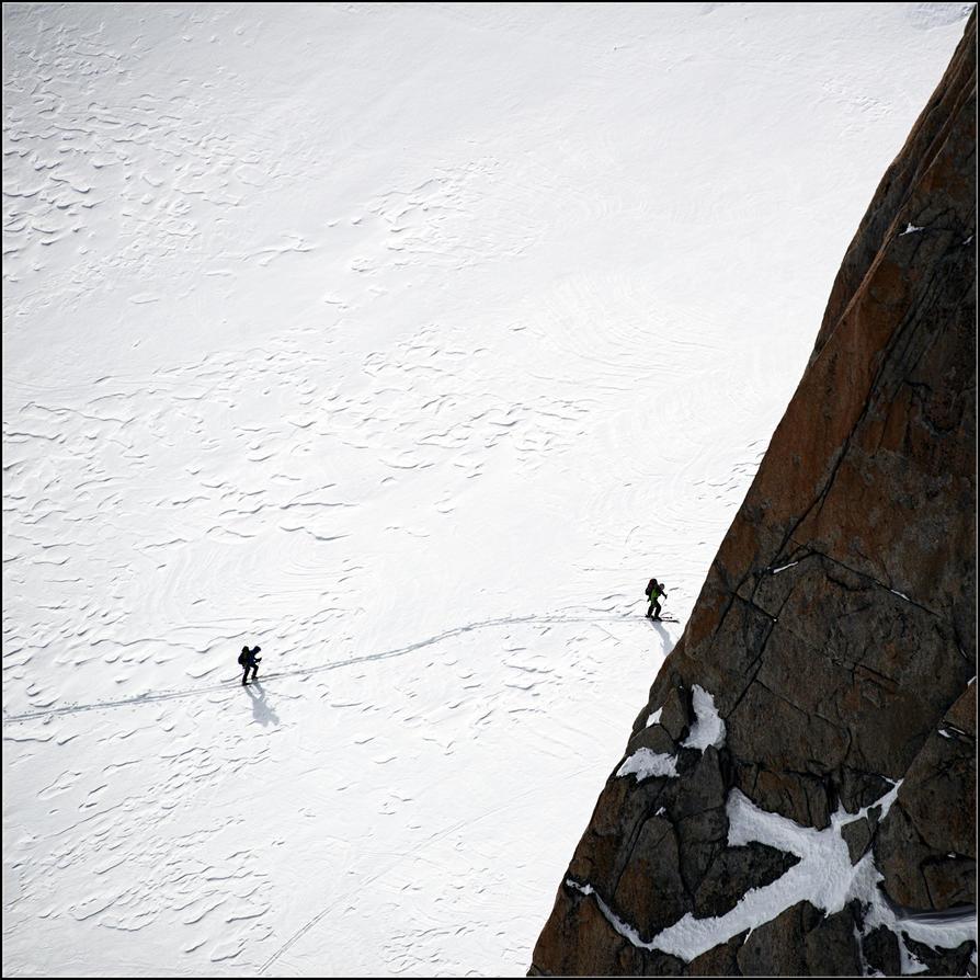 Ski walk by NikolaiMalykh