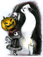 Halloween Scary things XD by thecrab