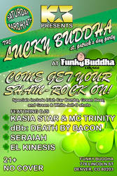 Lucky Buddha 2015 flyer by ElKinesis
