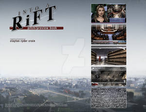 Clayton Crain's INTO A RiFT issue 1 page 1-2