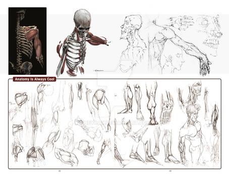 2012 Sketchbook: Evolution pages 42 and 43