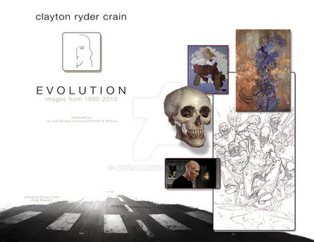 2012 Sketchbook: Evolution pages 0 and 1