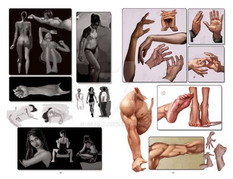 2012 Sketchbook: Evolution pages 28 and 29