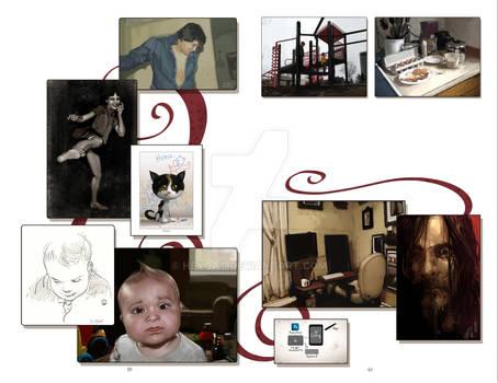 2012 Sketchbook: Evolution pages 50 and 51