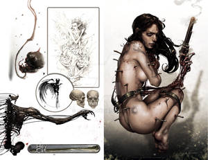 2012 Sketchbook: Evolution pages 48 and 49