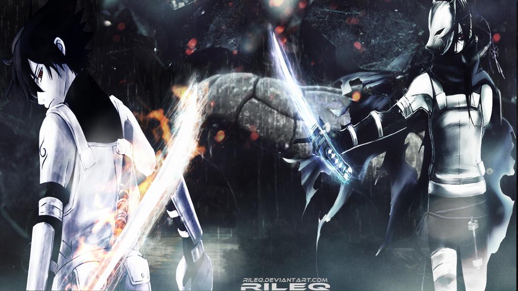 Anbu Uchiha Brothers Sasuke and Itachi by RiLeq on DeviantArt
