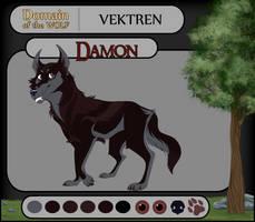 Damon || Vektren || DotW by SpookyWonders