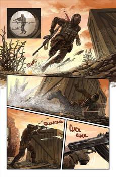 Stalker comics: DUEL -page 1-