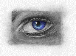 Eye colored by IvanaKC