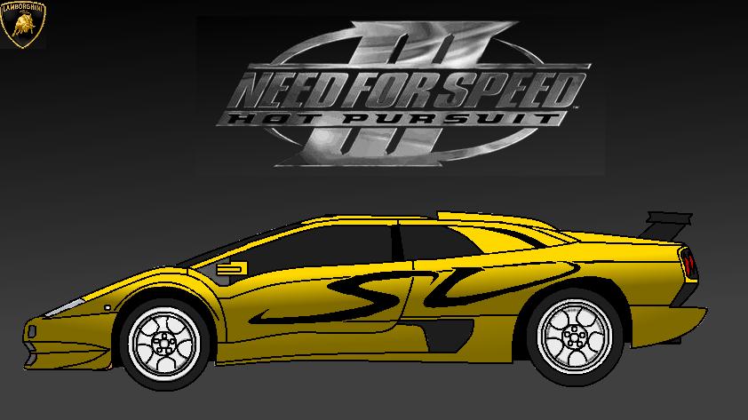Need For Speed Iii Hot Pursuit Lamborghini Diablo By Sonickai522 On