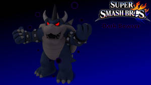 Dark Bowser - Super Smash Bros. for Wii U Style by TheWalshinator