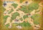 Fantasy Map (DSA fan art) by Nox-in-Lumina