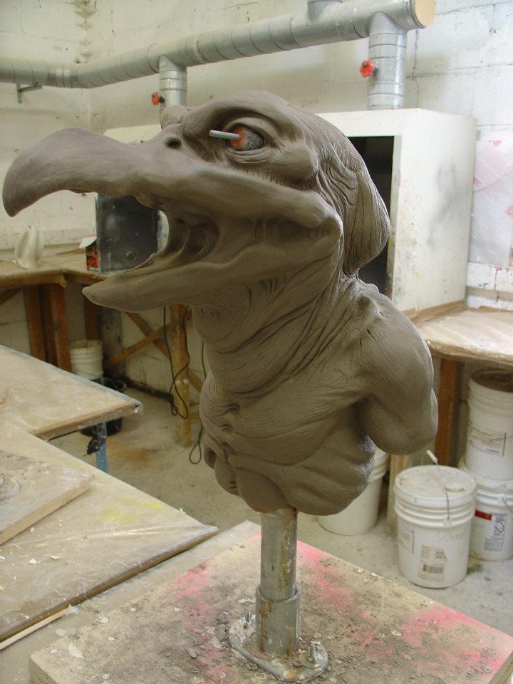Ogglewomp sculpt by JonnyGore