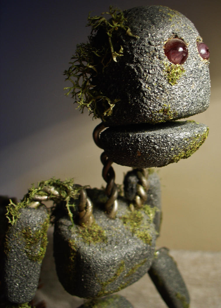 Stop Motion Stone Man 2 by JonnyGore