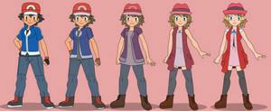 Ash turning into Serena
