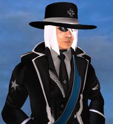 Xoza In Uniform - Ordo Portrait