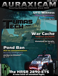 PS2 - Auraxicam Magazine Cover 001 by Xoza