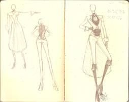 Fashion Sketch Dump 25 by shojokakumeii00