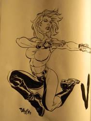 Danger Girl by Tim Vigil by integralsmatic
