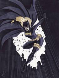 Batgirl by Lynne Yoshii by integralsmatic