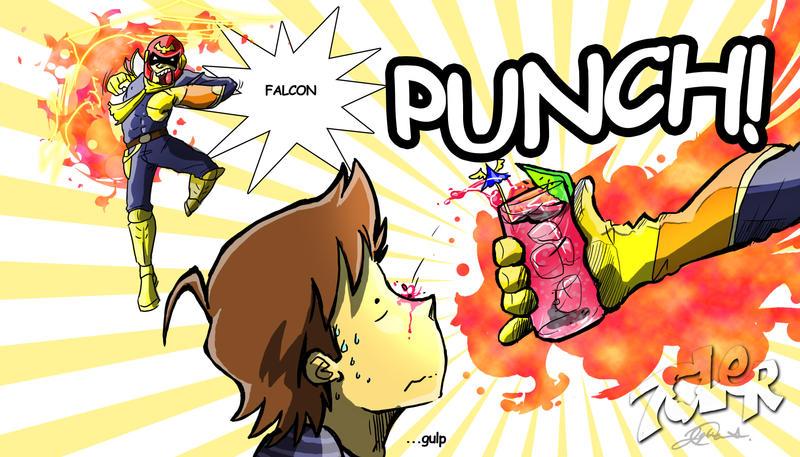 Captain falcon punch - photo#34